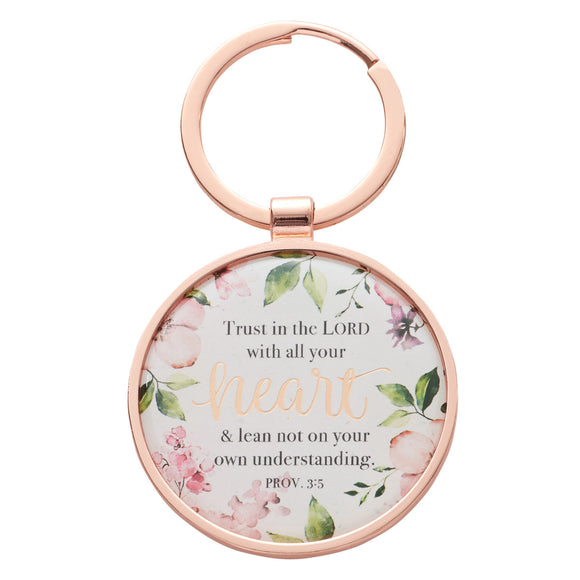 Keyring in Tin Trust in the Lord
