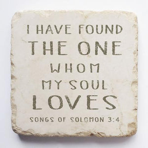Twelve Stone Art - Small Block - Song of Solomon 3:4
