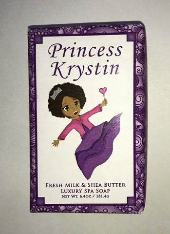 Princess Krystin Soap