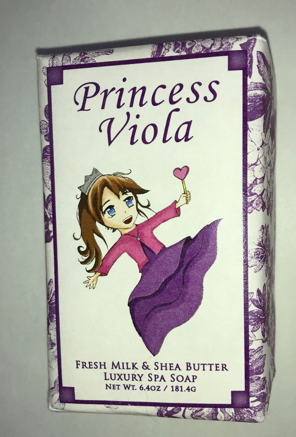 Princess Viola Soap