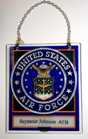 Seymour Johnson AFB Suncatcher