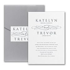 Charming Type/Invitation with Pocket