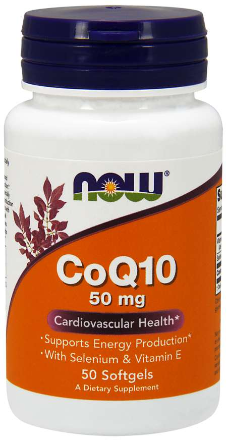 CoQ10 50 mg - 50 Softgels
