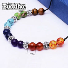 Natural Stone 7 Chakra Necklace