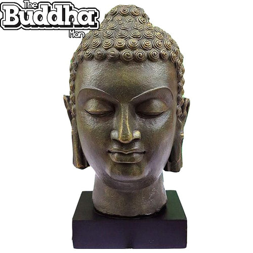 Handcrafted Shila Buddha Head