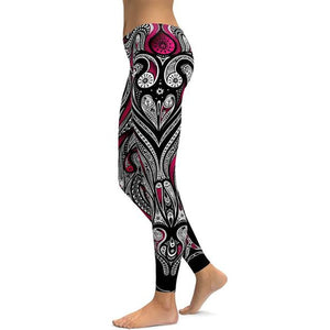 Yoga / Fitness Sports Leggings - High Waist