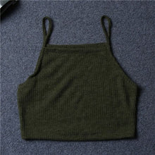 Knitted Crop Top / Vest Top