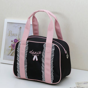 Ballet Bags with Lace Trim