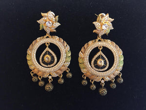 Trendy collection Earrings with CZ - 9gems