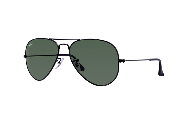 Ray-Ban Aviator Classic Sunglasses Black Frame RB3025