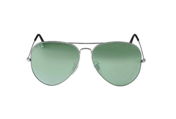 Ray-Ban Aviator Classic Sunglasses Silver Frame
