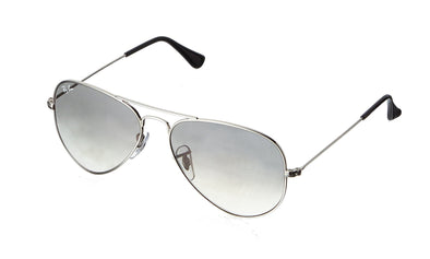 Ray-Ban Aviator Classic Sunglasses Silver Frame RB3025