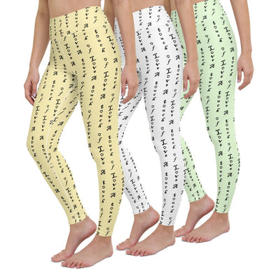 Swinnis Women's  Touch Of Love Leggings