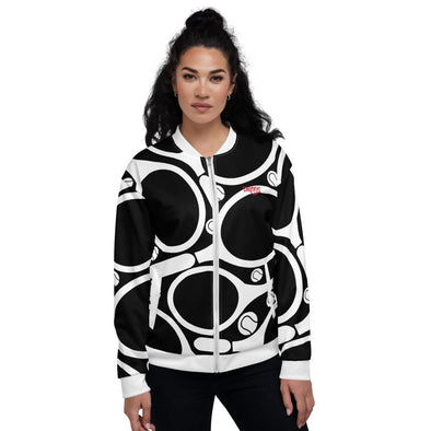 Swinnis Women's White Fall Bomber Jackets