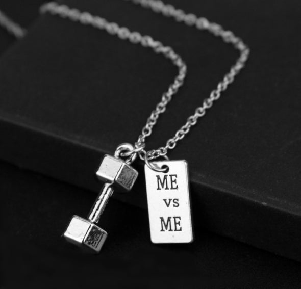 Dumbbell Charm Me & Me Gym Jewelry