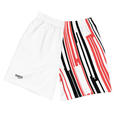 Swinnis Men's Game Lover White Shorts