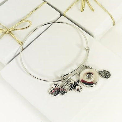Tennis Love Bangle Bracelet
