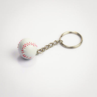 Mini Baseball Keyring