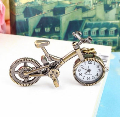 Bronze Alloy Bicycle Quartz