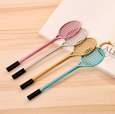 4 Pcs Tennis Racket Pen