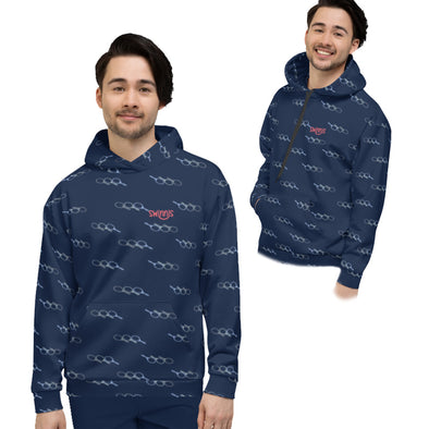 Swinnis Men's Love Game Hoodie