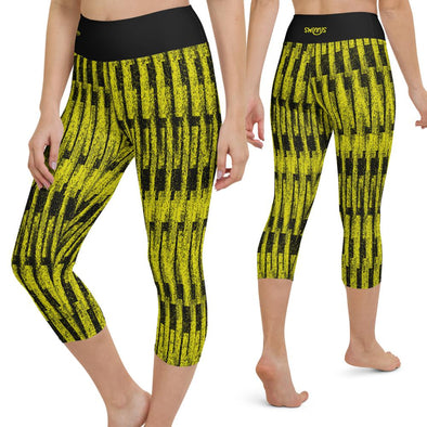 Swinnis Women's Next Level Capri Leggings