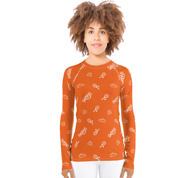 Swinnis Women's Bright Prints Long Sleeve