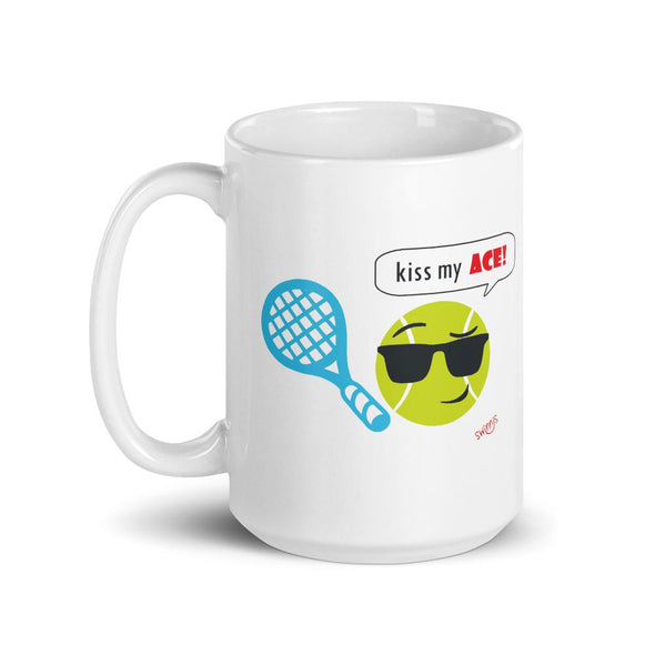 Swinnis Kiss My Ace For Him Mug