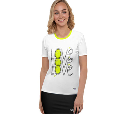 Swinnis Women's A Touch Of Love Top