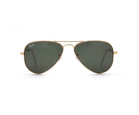 Ray-Ban Aviator Classic Sunglasses Gold Frame