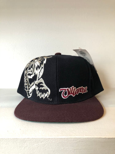 Villanova Brown/Black SnapBack Hat