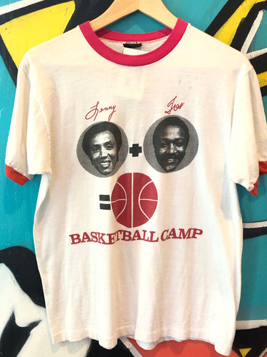 Vintage Sonics Basketball Camp Medium Tshirt