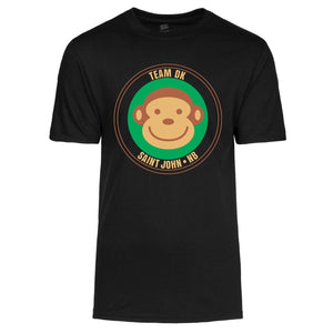 Adult Unisex Black Monkey TShirt