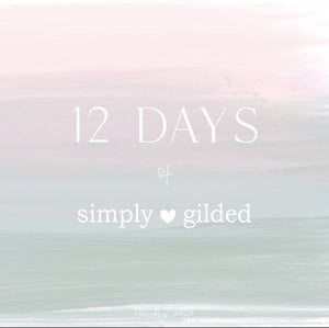 12 days of simply gilded MYSTERY BOX (2020 Preorder)