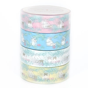 BUNDLE - SPRING Bunnies (4 washi, JC) - Limit 2