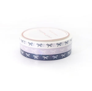 WASHI 5mm set of 3 - SPIRIT BOWS trio