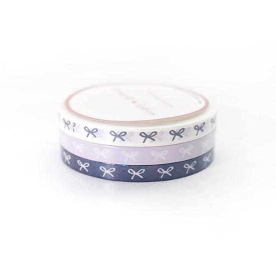 WASHI 5mm set of 3 - SPIRIT BOWS trio - Restock