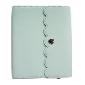 LARGE STICKER ALBUM - MINT + Silver Hardware