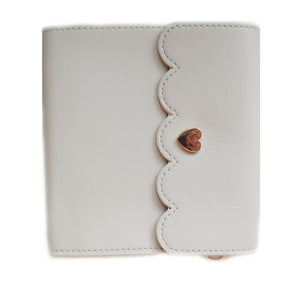 MINI STICKER ALBUM - Whisper Wheat + rose gold hardware