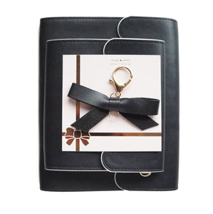 BUNDLE - BLACK w/WHITE ALBUMS & Bow Charm