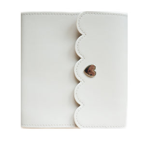 MINI ALBUM - Feather Grey with Sweet Pink Interior + silver hardware