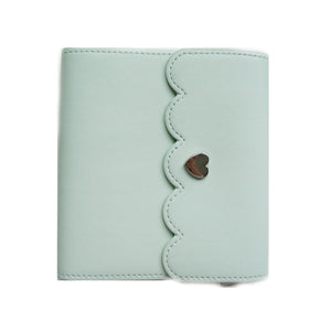 MINI STICKER ALBUM - MINT + Silver Hardware
