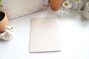B6 NOTEBOOK - stitched insert (Paris in Spring)