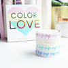 BOX SET COLOR LOVE 10mm (set of 4 washi tapes)