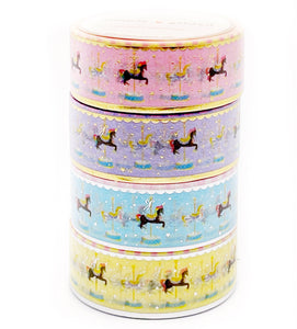 BUNDLE - Carousel Horses (4 20mm)