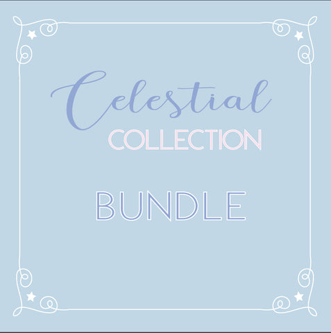 BUNDLE - CELESTIAL RELEASE (washi and seals) - Limit 1