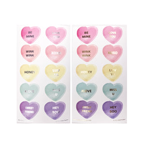SEALS - Conversation Hearts YOU PICK