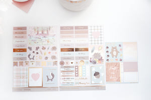 LUXE STICKERS set - COZY AND CRISP luxe stickers and SB05 mini sheet (Cozy and Crisp)