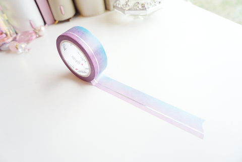 SIMPLE LINE DAYBREAK holographic foil washi tape - 15mm - (April mini release)