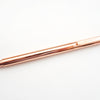 FANCY FETE - Rose Gold Engraved Black Gel Ink Pen
